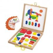 New Classic Toys Jeu de formes magnétiques