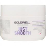 Goldwell Dualsenses Just Smooth glättende Maske für widerspenstiges Haar 200 ml
