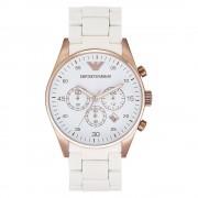 Armani Watches Armani montres blanc et or Chronograph Mens Watch Ar5919