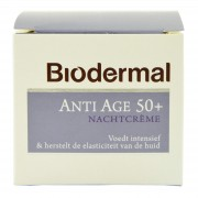 Biodermal - Anti Age Nachtcrème 50+ - 50 ml