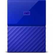 "3TB Western Digital MyPassport, външен, 2.5""(6.35cm), USB 3.0, син"
