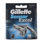 Gillette Sensor Excel 10 ks náhradní břit M