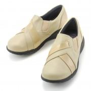 たびらく牛革5E軽量スリッポンシューズ【QVC】40代・50代レディースファッション
