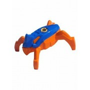 LEGO Minifigure - Hero Factory Jumper (Blue Top / Orange Base)