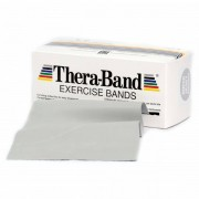 Thera-Band - Übungsband - Élastique fitness taille 12,8cm x 5,50m, gris