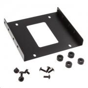 Adaptor Kolink de la 3.5 inch la 2.5 inch HDD/SSD, antivibratii, culoare neagra