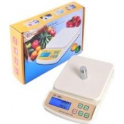 ZIORK Kitchen Digital Weighing Scale Upto 10Kg With Batteries (SF-400A) Weighing Scale(White)