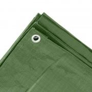 Merkloos Groen afdekzeil / dekzeil 10 x 12 meter