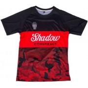 Shadow Finest Crow Soccer Jersey T-shirt (Röd)