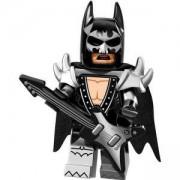 ФИЛМЪТ LEGO БАТМАН идентифицирана минифигурка - Метъл Батман, LEGO Batman Movie - Glam Metal Batman, 71017-2