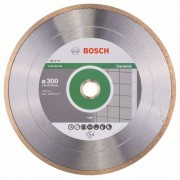 Диск диамантен за рязане Standard for Ceramic, 300 x 30+25,40 x 2 x 7 mm, 1 бр./оп., 2608602540, BOSCH