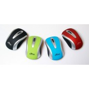 Mouse, Media-Tech Port RF, Wireless, Red (MT1098R)