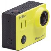 Midland H9 4K Ultra HD Cámara de acción Amarillo un tamaño