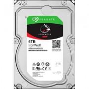 Твърд диск seagate ironwolf 6tb nas 7200 128mb cache sata 3.5, 6tb, st6000vn0033
