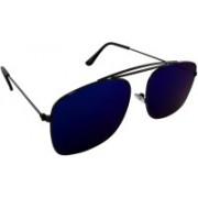ELS Rectangular Sunglasses(Violet)
