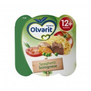 Olvarit peutermenu spaghetti 230 gr.