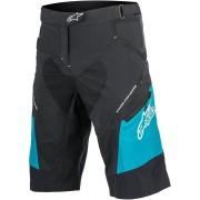 Alpinestars Stella Drop 2 Damas pantalones cortos de bicicleta Negro/Azul 26