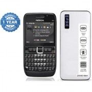 Nokia E63/ Good Condition/ Certified Pre Owned (1 Year Warranty) with 20000 mAh Powerbank