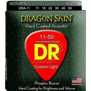 DR Strings DSA-11 Coated Phosphor Bronze Acoustic Guitar Strings Custom