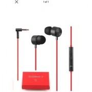 Quadbeat 3 HSS-F630 In Ear Headphones For LG G4 (Red)