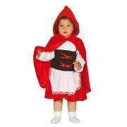 Roodkapje baby jurkje