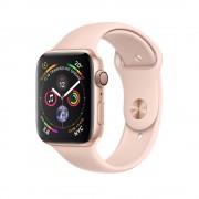 Умные часы Apple Watch Series 4 GPS 40mm Gold Aluminum Case with Pink Sand Sport Band MU682 (Золотистый/Розовый песок)