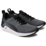 Puma Pulse XT Geo Wn s Running Shoes For Women(Black, Grey)