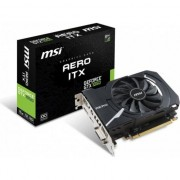Paca video msi Aero GeForce GTX 1050 ITX OC 2GB GDDR5 (128-bit), DVI-D, HDMI, DisplayPort, BOX (AERO 1050 GTX OC 2G ITX)