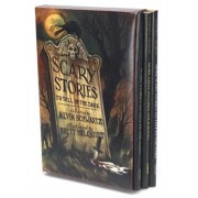 Scary Stories Box Set: Scary Stories, More Scary Stories, and Scary Stories 3, Paperback