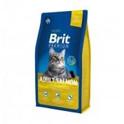 BRIT Premium Cat Adult Salmon (Gatos Adultos) 8kg