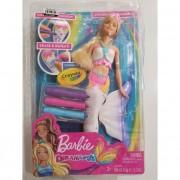 Barbie Crayola színezős sellő