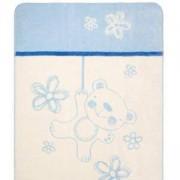 Бебешко одеяло Teddy, синьо, 0201, BabyMatex, 5902675035071