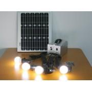 Sistem fotovoltaic CAMPER - 5/12V-15W-USB-4LED