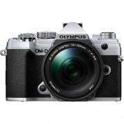 Olympus Om-D E-M5 Mark Iii + 14-150mm F/4-5.6 M.Zuiko Ed Ii - Argento - 2 Anni Di Garanzia In Italia