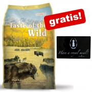 13 kg Taste of the Wild + Covoraș pentru boluri Trixie King of Dogs gratis! - Wetlands Canine (13 kg)