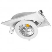 OPTONICA LED Süllyeszthető spot lámpa/ 12W /dönthető, forgatható/ fehér / meleg fehér /CB3256