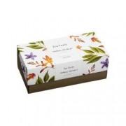 Cutie cu 20 de piramide de ceai Tea Forte Ribbon Box Herbal Retreat