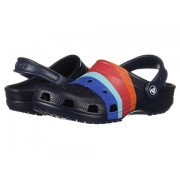 Crocs Classic Seasonal Graphic Clog NavyMulti