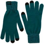 Gebreide handschoenen - groenblauw - S/M - Groen