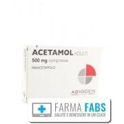 Abiogen Pharma Spa Acetamol*ad 20cpr 500mg
