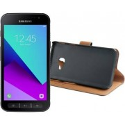 Samsung Galaxy Xcover 4 + Xqisit Slim Wallet Selection Case Galaxy XCover 4