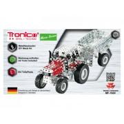 Tronico Micro Series Massey Ferguson MF-7600 Traktor mit Kippanhänger;