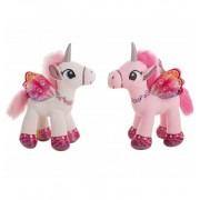 Unicornio de peluche 26 cm. - jugueterias