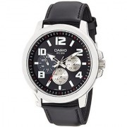 Casio Enticer Mens Analog Black Dial Mens Watch - MTP-X300L-1AVDF (A1061)