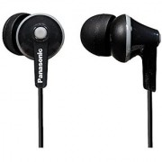 Panasonic Wired Earphones 3.5 mm Jack Black (RP-HJE125-K)