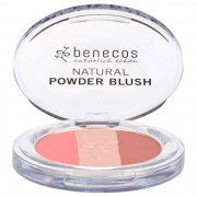 Benecos Natural Powder Trio Blush Fall in Love, 5 g
