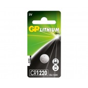 Baterie GP Lithium 3V CR1220-7C5 (Ø 12.5 x 2mm)