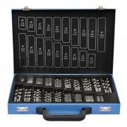 vidaXL Souprava bitů 170 ks, kovový kufřík HSS