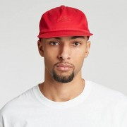 Sns Cotton Twill Strap Back Burgundy