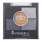 Rimmel London Glam Eyes HD Palette di ombretti 3,8 g tonalità 023 Foggy Grey